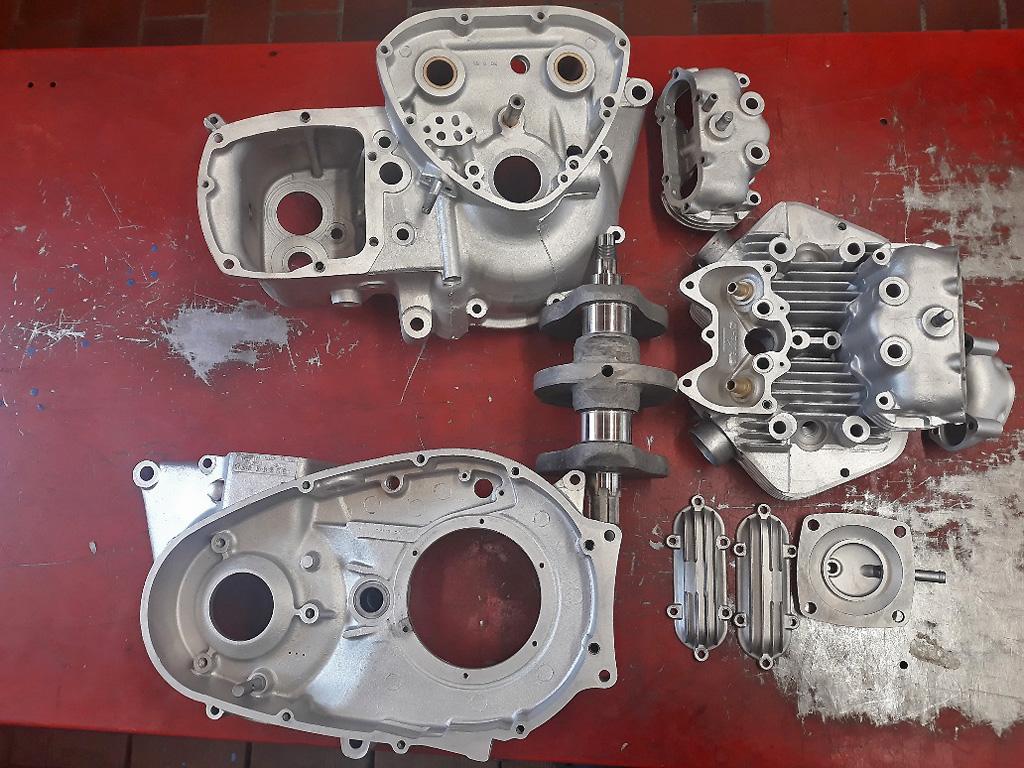 Triumph T140 750 Reparatur