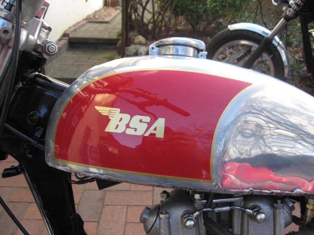 BSA B40 ©Rainer Zumach