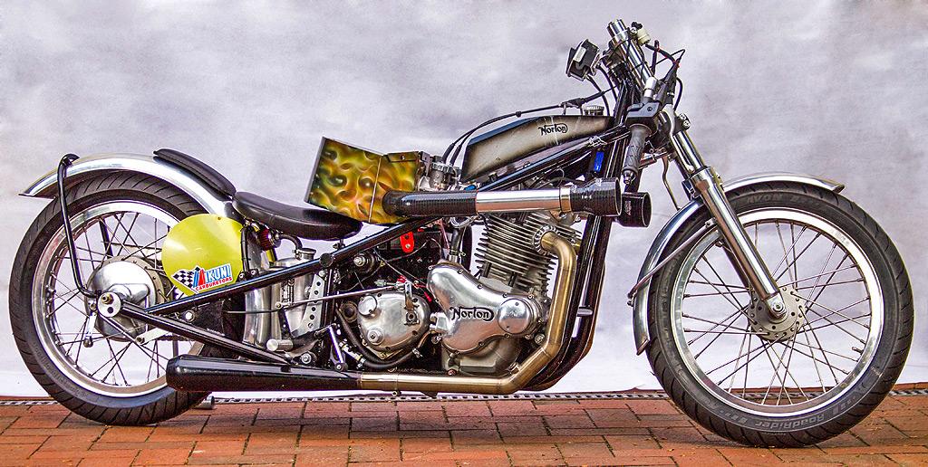 Norton Racer Bonneville