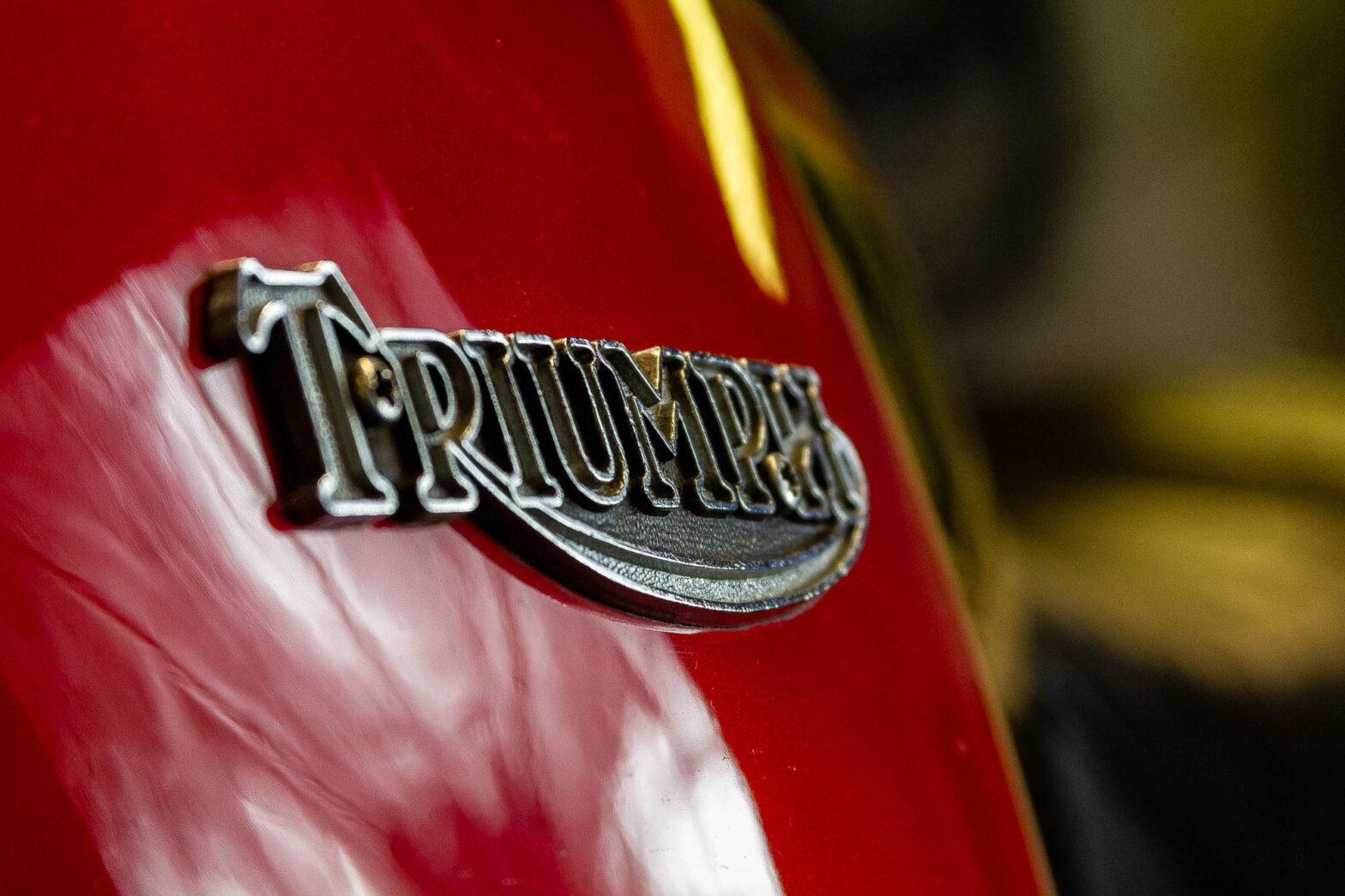 Triumph Tank Detail